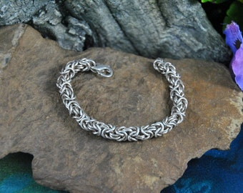 Byzantine Birdcage Bracelet // Heavy 36 Grams Sterling ~ Square Design // Vintage ~ Hallmarked 925