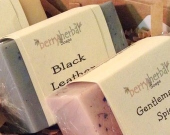 PACK of 3~ MEN's Choice~ Scented Body Soap Bars~ Free U.S. Shipping