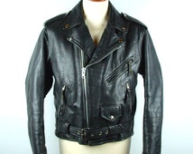 Vintage Bates Leather Mate Motorcycle Jacket in Amazing Condition