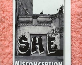 MISCONCEPTION Volume I Nonbinary Graff Zine