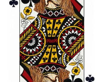 Cavalier King Charles Spaniel-Handmade Card
