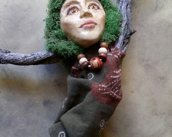 Aine - Spirit Doll - Art Doll - Assemblage Doll
