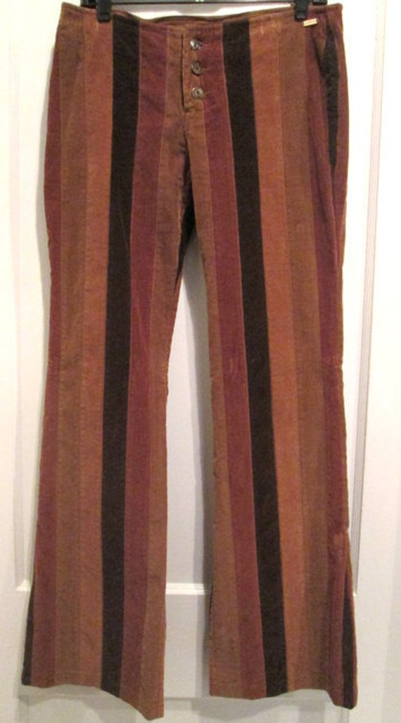 Honey Punch Pants - Rainbow Pants - Flare Pants - Wide-Leg ... |Hippie Striped Pants