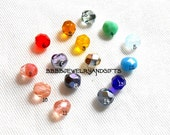 SALE USA 6mm Choose Colors Earrings - Surgical Steel Post Studs - Kidney Wire - Leverbacks - French Hooks