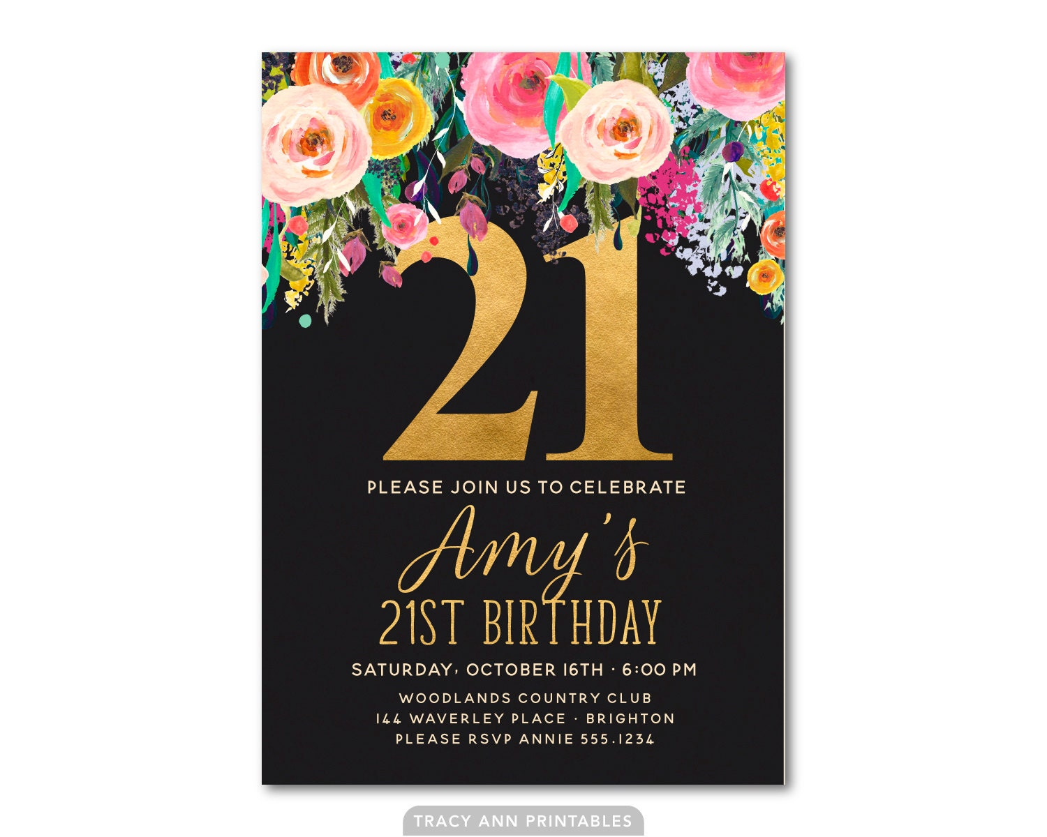 40th birthday invite – 40th Birthday Invite