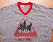 Lexington KY Red Mile T-Shirt, Kentucky Horse Racing Track, Vintage 80s