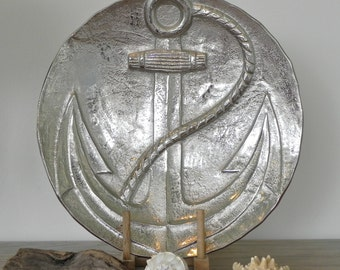Nautical Wedding Anchor Serving Platter Decor Beach House Decor Rustic Sailor Boat Anchor Nautical Beach Cottage Decor Nautical Kitchen