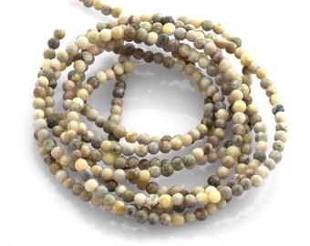 Connemara Marble - 4mm smooth round - full strand