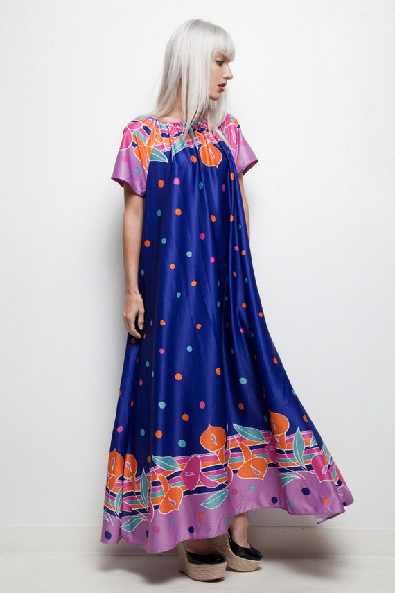 HD wallpapers plus size purple polka dot dress