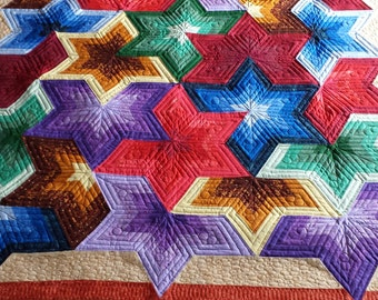 In the Stars Lap Quilt