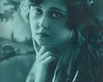 I'll Be Sad, Un'teal' I See You Again. Italian Monochrome, circa 1930
