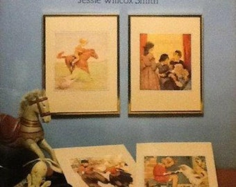 Jessie Willcox Smith Ready to Frame Storybook Illustrations 6 Self-Matted Color Prints Dover Publications Vintage Prints Vintage Storybook