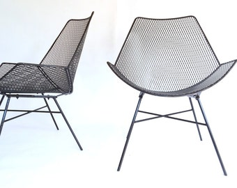 modernist wire metal patio chairs outdoor patio garden chair furniture