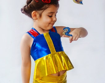 Girls Snow White Swim Suit