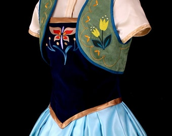 Anna Frozen Fever Custom Costume