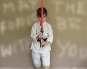 Star Wars Luke Skywalker Inspired Costume - Shirt, Pants, Utility Belt / Sizes 2-8 / Jedi Dress Up, Trick or Treat, Visits to Disney