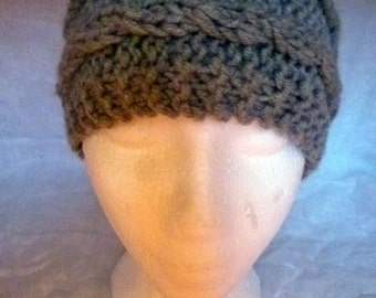 Hand Knit and Designed Winter or Spring Runners Headband Unisex