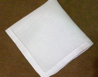 Ladies Irish Linen hanky, bridesmaid, wedding gift, monogram available