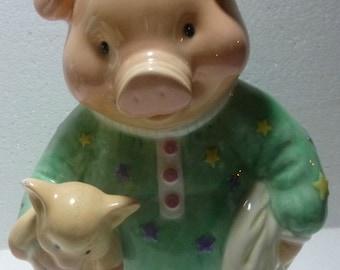 The San Francisco Music Box Company Vintage Retired Piggy Bank