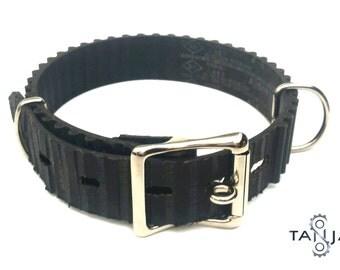 Dog Collar Upcycled Vegan Autoparts