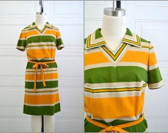 1960s Henry Lee Striped Dress