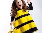 Bumble bee Costume Toddlers Bee costumes 4PC Girls toddler costume Ready to ship Halloween costumes for kids.