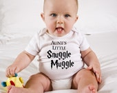 Funny Harry Potter Baby Onesie - Aunt's Little Snuggle Muggle