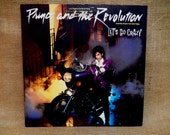 VINYL RECORD SALE Prince and the Revolution - Let's Go Crazy - 1984 Vintage Vinyl Record Album...Specially-Priced 2-Cut Maxi Single...Promo