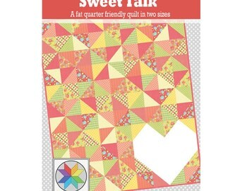 Sweet Talk - a PDF quilt pattern (throw & twin sizes)