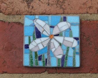 White Daisy - garden outdoor wall art