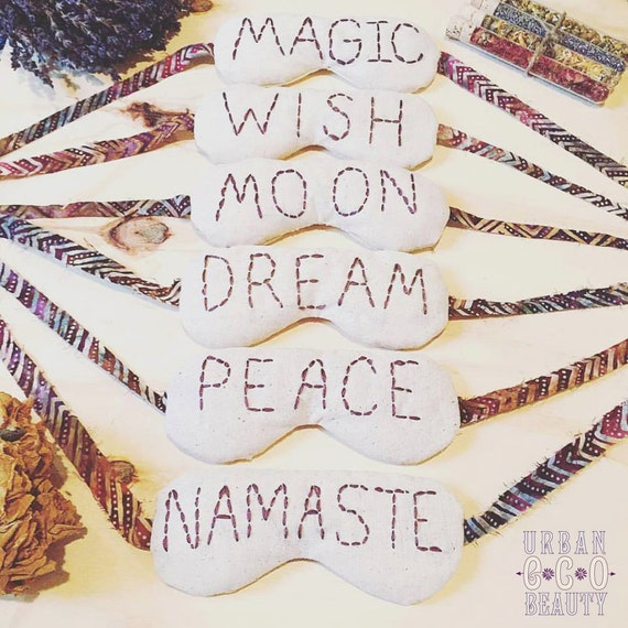 Herbal Beauty Dream Eye Mask / Meditation Mask, Lucid Dreaming, Relaxing Eye Pillow, Eye Therapy, Sleep Mask, Aromatherapy / Organic / Gift