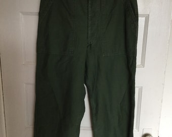 Perfect 60's cotton utility pants