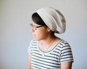 Natural Muslin Snood Headcovering   Women's Headcovering Veil