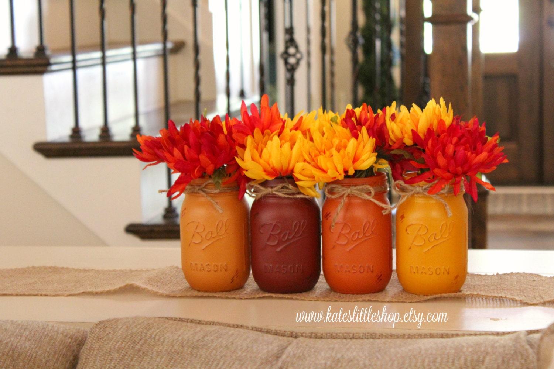 Fall Wedding Mason Jar Centerpieces Wedding Studio Us Wedding