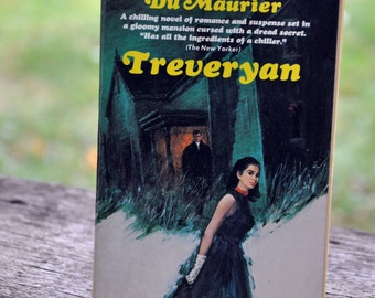 Treveryan by Angela Du Maurier, book, Horror, Gothic, Macabre, Paperback Library