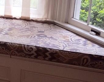 Trapezoid Bench Cushion Window Cushion