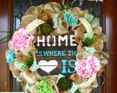Home Is Where The Heart Is Wreath