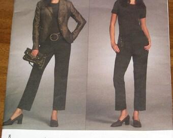 Vogue American Designer 2986 Michael Kors Jacket, Pants, Women's Misses Sewing Pattern Size 6 8 10 12 Bust 30 31 32 34 Uncut Factory Folds