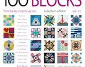 Quiltmaker's 100 Blocks Volume 13 , Collector's Edition Magazine, Summer 2016