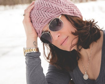 Herringbone Stitch Knit Hat Pattern : Crochet Pattern for Star Stitch Hooded Cowl 5 sizes baby to