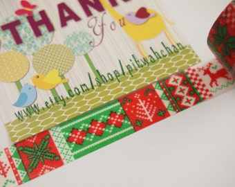 Christmas Washi Tape (5M)