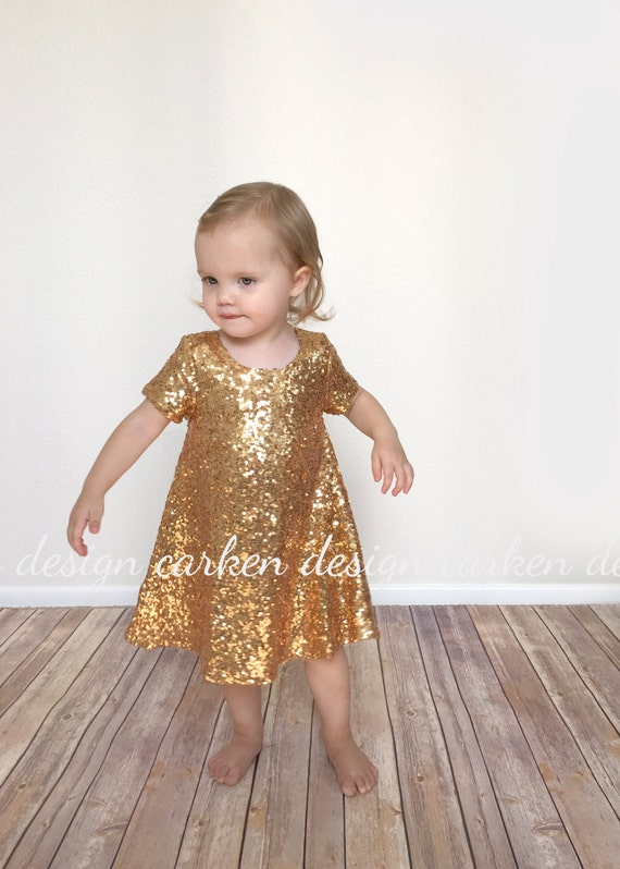 sequin flowergirl dress party dress formal toddler by carkendesign