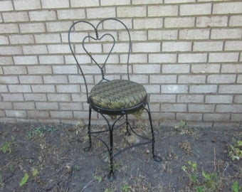 Wrought iron chairs | Etsy