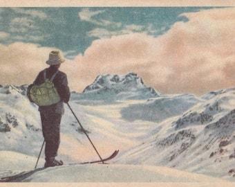 Vintage German Photo Postcard (4108) -- 1950?