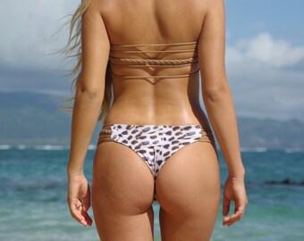 Luluka: Reversible strappy brazilian bikini bottoms create your own