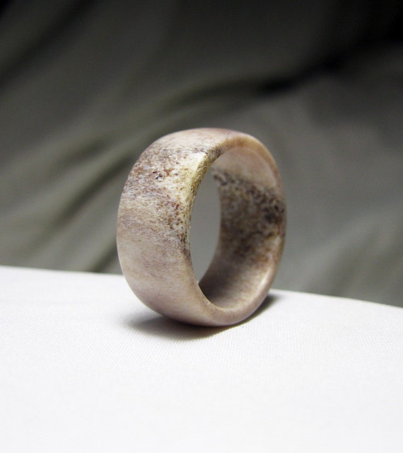 Antler Ring - Classic Band Style
