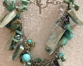 Aqua Jingle Bracelet