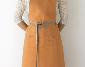 Kitchen Apron in Copper