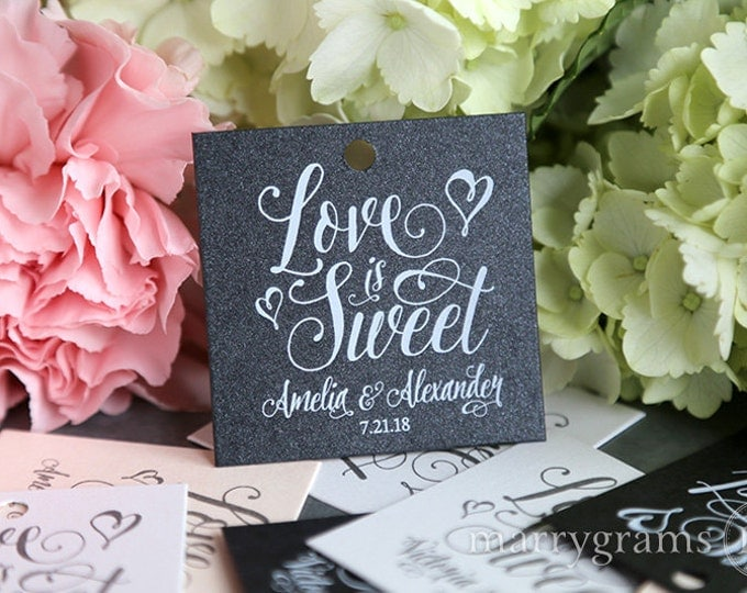 Favor tags wedding
