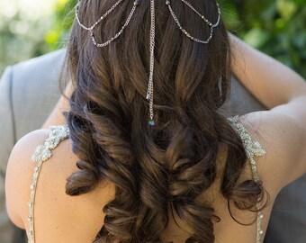 Hair Chain Headpiece | Head Jewelry Chain | Hair Chain Jewelry | Bohemian Head Chain | Chain Headpiece | Head Chain | Hair Jewelry | Bridal
